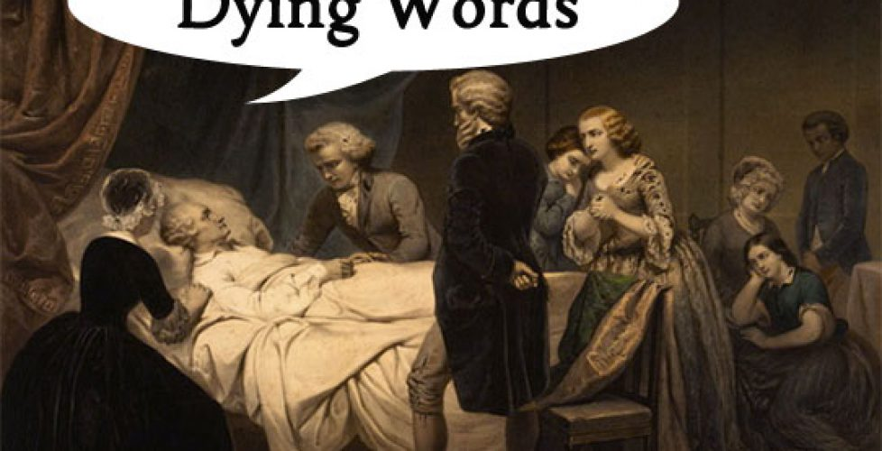 Dying-Words