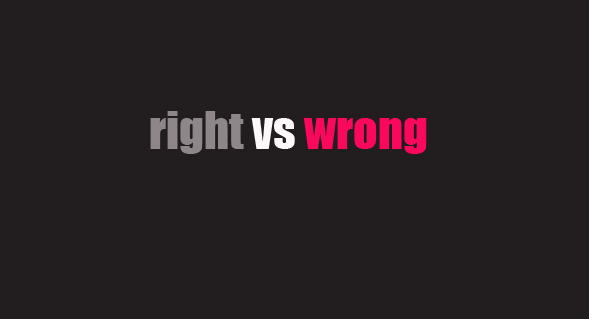 rightwrong